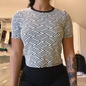 top shop patterned shirt